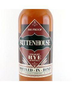 Rittenhouse 100 Bottled in Bond Rye Whiskey (700ml)