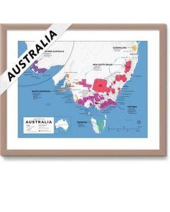 Wine Folly Wine Map Australia