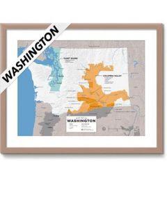 Wine Folly Wine Map USA- Washington