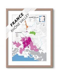 Wine Folly Wine Map France- Rhone