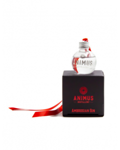 Animus Christmas Gin Bauble - Abrosia (red)