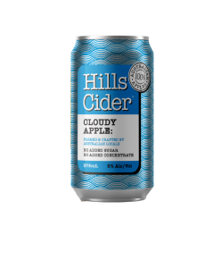 The Hills Cloudy Apple Cider 375ml Can