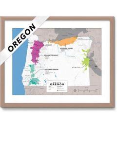 Wine Folly Wine Map USA- Oregon